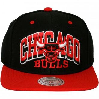 Casquette Snapback Mitchell & Ness - NBA 2x Arch - Chicago Bulls