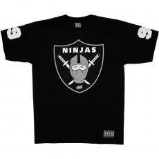 T-shirt Rocksmith - Ninja Shield Tee - Black