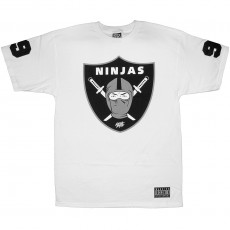T-shirt Rocksmith - Ninja Shield Tee - White