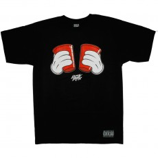 T-shirt Rocksmith - Double Fist Tee - Black