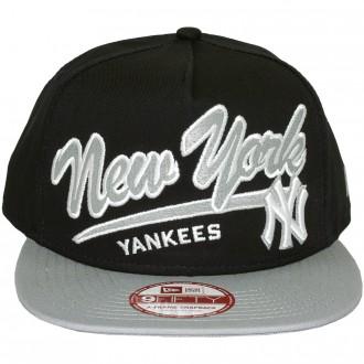 Casquette Snapback New Era - 9Fifty MLB Script Logo - New York Yankees