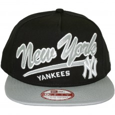 Casquette Snapback New Era - 9Fifty MLB Script Logo - New York Yankees
