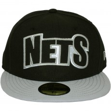 Casquette Fitted New Era - 59Fifty NBA Edge Up - Brooklyn Nets