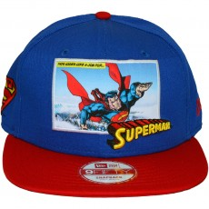 Casquette Snapback New Era x DC Comics - 9Fifty Comic Panal 2 - Superman