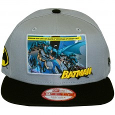 Casquette Snapback New Era x DC Comics - 9Fifty Comic Panal 2 - Batman