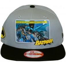 Casquette Snapback New Era x DC Comics - 9Fifty Comic Panal 2 - Batman