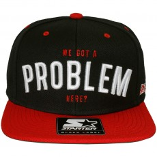 Casquette Snapback Starter - Problem Boyz N The Hood - Black
