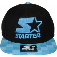 Casquette Snapback Starter - Kit 2 Tone - Black / Blue