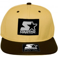 Casquette Snapback Starter - Label Cap - Tan / Chocolate