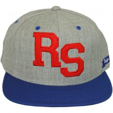 Casquette Snapback King Apparel x Starter - Letterman - Grey