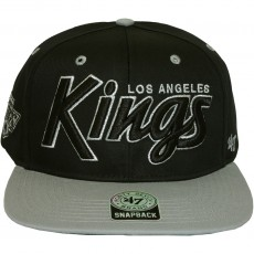 Casquette Snapback 47 Brand - Retroscript Vintage - Los Angeles Kings - Black