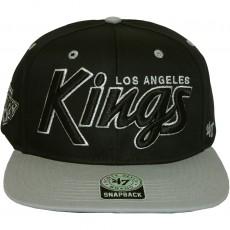 Casquette Snapback 47 Brand - Retroscript Vintage - Los Angeles Kings - Black