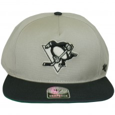 Casquette Snapback 47 Brand - Chaff 2 Tone - Pittsburgh Penguins