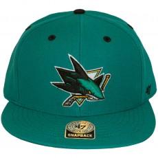 Casquette Snapback 47 Brand - Oath - San Jose Sharks - Dark Teal