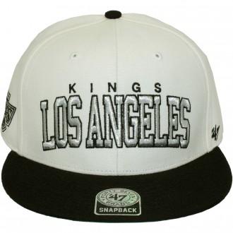 Casquette Snapback 47 Brand - Blockshed - Los Angeles Kings - Natural