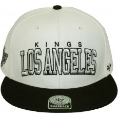 Casquette Snapback 47 Brand - Blockshed - Los Angeles Kings - Natural