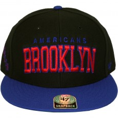 Casquette Snapback 47 Brand - Blockshed - Brooklyn Americans - Black