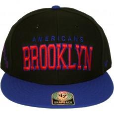 Casquette Snapback 47 Brand - Blockshed - Brooklyn Americans - Black