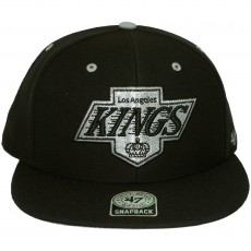 Casquette Snapback 47 Brand - Oath - Los Angeles Kings - Black