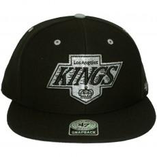 Casquette Snapback 47 Brand - Oath - Los Angeles Kings - Black