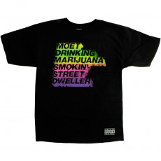 T-shirt Rocksmith - Street Dweler - Black