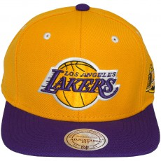 Casquette Snapback Mitchell & Ness - NBA 2001 Commerative Finals Patch - Los Angeles Lakers