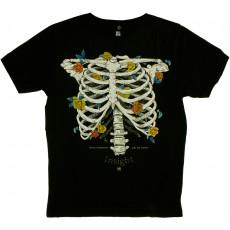 T-shirt Insight - Bones Bouquet Tee - Floyd Black