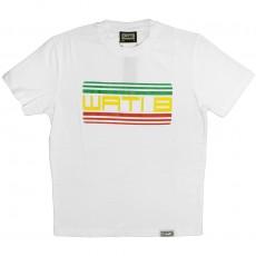 T-shirt Wati B - Wati B Logo Tee - White/Jamaica