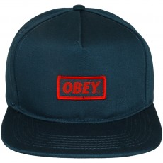 Casquette Snapback Obey - New Original Snapback - Navy