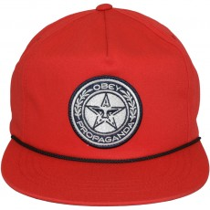 Casquette Snapback Obey - Luxury Snapback - Red