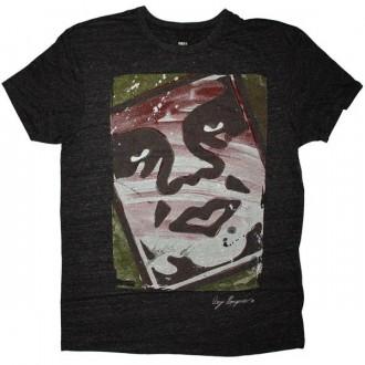 OBEY Tri-Blend T-shirt - Warhola - Heather Grey