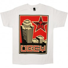OBEY Basic T-shirt - Skyline - White