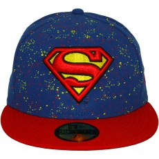 Casquette Snapback New Era x DC Comics - 59Fifty Speckle Hero - Superman