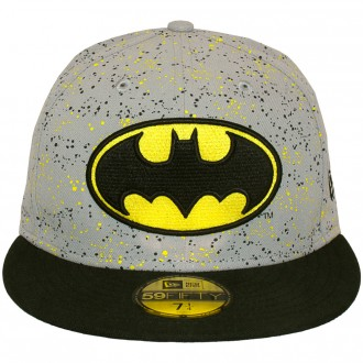 aed99df9850 Casquette Snapback New Era x DC Comics - 59Fifty Speckle Hero - Batman