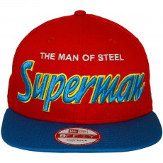 Casquette Snapback New Era x DC Comics - 9Fifty Reverse Hero Word - Superman
