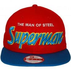 Casquette Snapback New Era x DC Comics - 9Fifty Reverse Hero Word - Superman