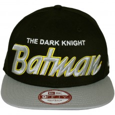 Casquette Snapback New Era x DC Comics - 9Fifty Reverse Hero Word - Batman
