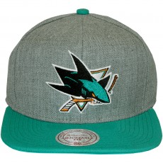 Casquette Snapback Mitchell & Ness - NHL Team Pop - San Jose Sharks