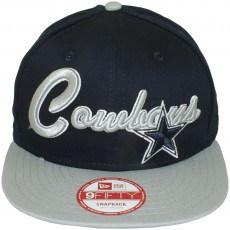 Casquette Snapback New Era - 9Fifty NFL Super Script - Dallas Cowboys