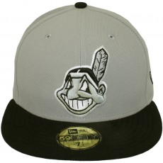 Casquette Fitted New Era - 59Fifty MLB Baycik Alt - Cleveland Indians