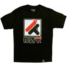T-shirt Dissizit - Dila - Black