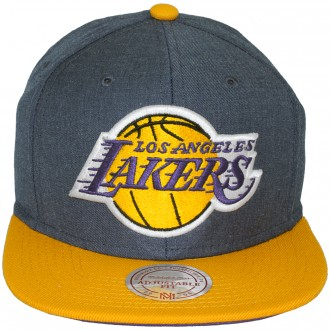 casquette snapback mitchell ness nba manhattan los angeles lakers. Black Bedroom Furniture Sets. Home Design Ideas