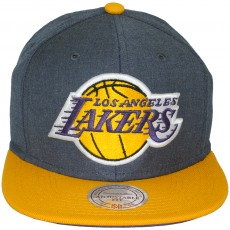 Casquette Snapback Mitchell & Ness - NBA Manhattan - Los Angeles Lakers