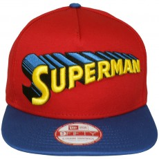 Casquette Snapback New Era x DC Comics - 9Fifty Reverse Classic Official - Superman
