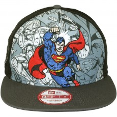 Casquette Snapback New Era x DC Comics - 9Fifty Hero Break Out - Superman