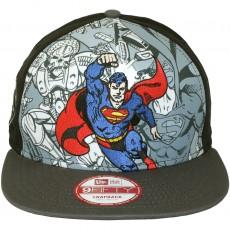 Casquette Snapback New Era x DC Comics - 9Fifty Hero Break Out - Superman