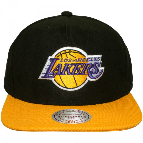 casquette strapback mitchell ness nba zipbuck los angeles lakers. Black Bedroom Furniture Sets. Home Design Ideas
