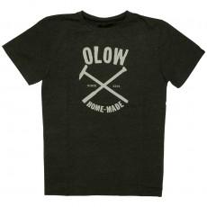 T-shirt Olow - Home Made - Noir chiné