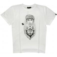T-shirt Olow - Hippie - Blanc