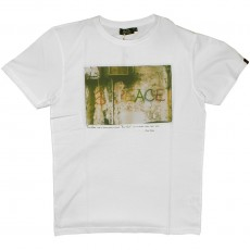 T-shirt Olow - Peace - Blanc